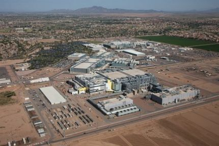 Intel Invests 8 Billion to Complete Computer Chip Manufacturing Plant in AZ